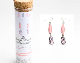Earrings paper jewelry CREATION KIT