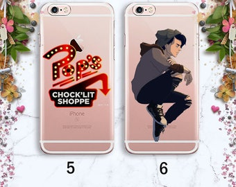 Cole Sprouse Pop's Chock'lit shoppe Riverdale iPhone 8 Plus Case Samsung S7 Edge Snake iPhone 7 Case iPhone 6 Plus iPhone X iPhone 7 Jughead