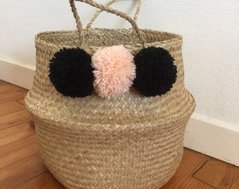 Tassels storage basket
