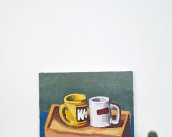 Coffee Mug Painting