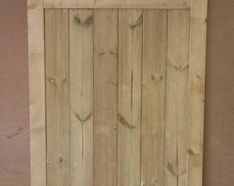House Numbered Garden Gate