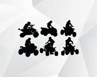 ATV svg,png,jpg/ATV clipart for Print,Design,Silhouette,Cricut and any more