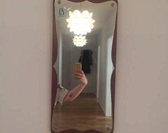 Midcentury Modern Danish Teak Mirror