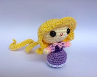 Rapunzel - Disney Amigurumi Crochet doll (Tangled)