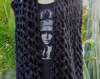 Chunky Knit Sweater Vest