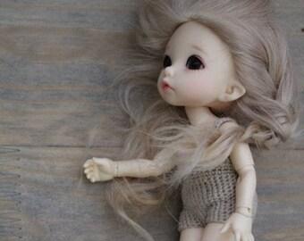 Doll wig bjd blythe antique for order