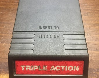 Intellivision Triple Action Game