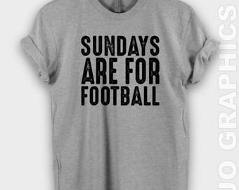 Sundays Are For Football Shirt - Sundays are for Football Shirt, Football Shirt, Superbowl Shirt, Fall Shirt, Mom Christmas Gift, Sundays