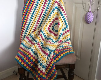 Katie - Handmade Crochet Blanket