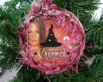 Charmed Christmas Ornament Upcycled TV Show DVD #11 - Piper