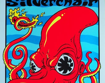 The Red Hot Chilli Peppers concert poster
