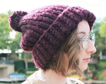 Cozy Chunky Wool Hat