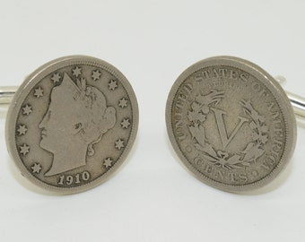 Liberty Nickel Cufflinks