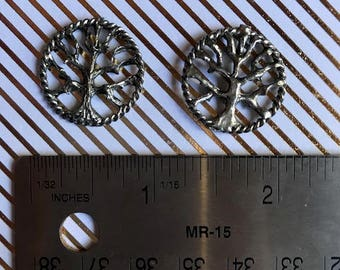 Silver Oak Tree of Life Charms