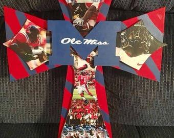 Custom Made Ole Miss Crosses