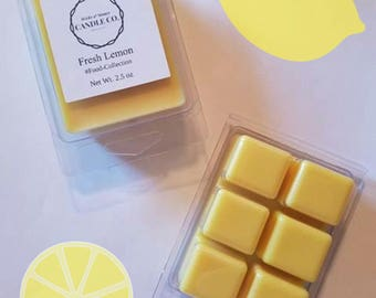Fresh Lemon Wax Melt, Citrus scents, Food Scented, Christian gifts, Gifts for her, Christmas gifts, Fresh fragrance, Kitchen scents, gifts