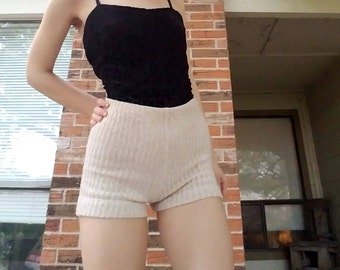 Vintage 60s or 70s high waisted shorts