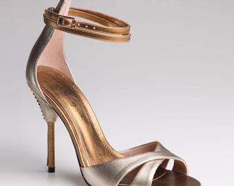 Wynn Sandal - Golden