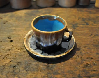 Lovely glazed coffee cup