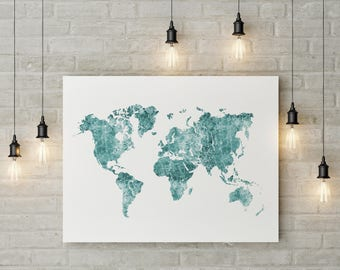 World travel map etsy world map digital file custom map marble map wanderlust travel gift gumiabroncs Image collections