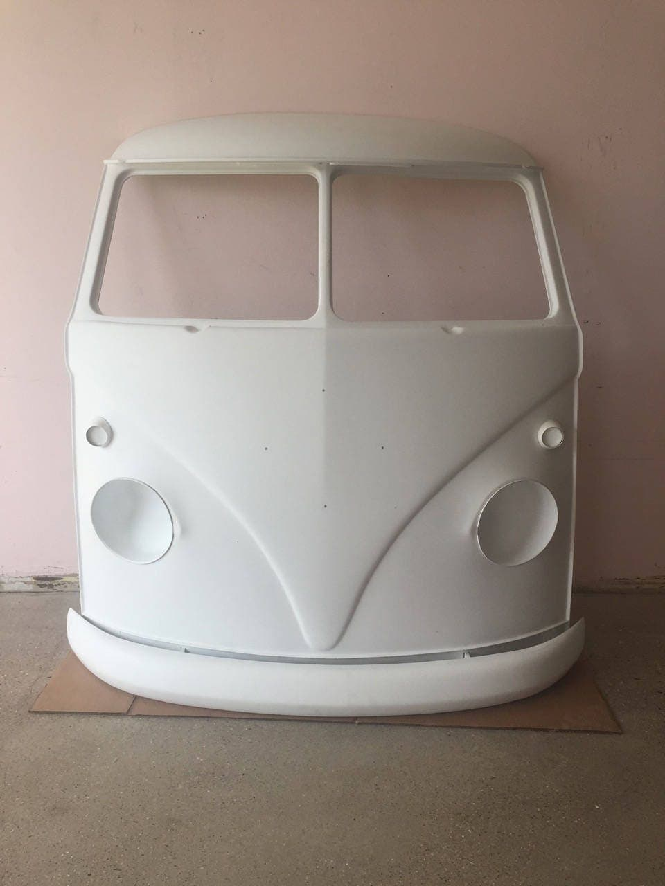 Fiberglass Vw Bus Nose Wall Art