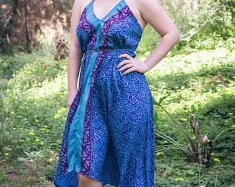 Feeling Gorges in blue dress
