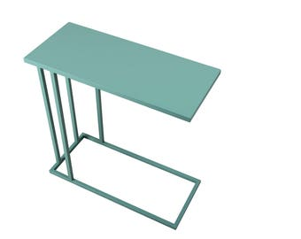seetable side table carryable versatile accent table modern side table all metal