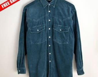 Velvet Shirt M Luggi Rossi 90s shirt Vintage shirt 90s Retro Blouse Shirt Blouse, Velvet blouse 90s blouse Vintage men shirt