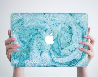 Blue Marble Macbook Pro Case Marble Laptop Case Macbook Hard Case Macbook Air Case Marble Macbook Case Macbook Air 13 Macbook Pro 2016 Case