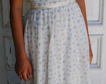 Vintage Prairie Boho Wedding Dress