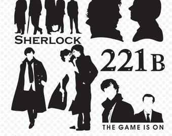 Sherlock SVG, Sherlock Clipart, Sherlock svg, Sherlock, Sherlock png,Sherlock Silhouette, Sherlock Holmes, Sherlock Vector, Sherlock