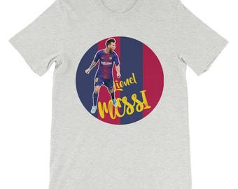 Messi T-shirt | Cool FC Barcelona Messi Design T-shirt |