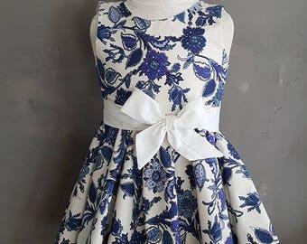 1 dress girls provencal fabric. HAND MADE