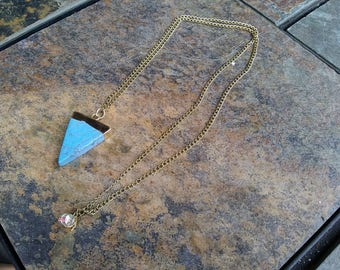 Blue Pretty Necklace