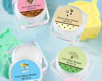 24 Personalized Baby Shower Lip Balm - Set of 24
