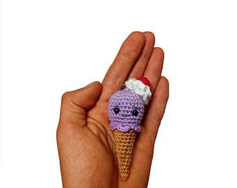 Sleutelhanger ijsje en mini-ijsje