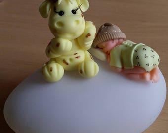 Nightlight Pebble for baby's room