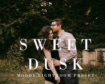 Sweet Dusk | Lightroom Preset, Moody Presets, Wedding Lightroom Presets