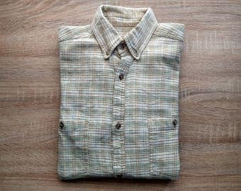 Vintage linen/cotton shirt