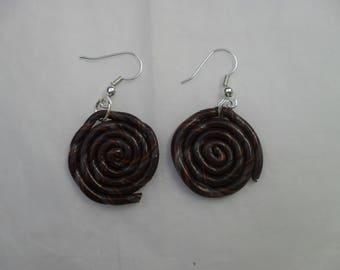 Carnival lollipop earrings