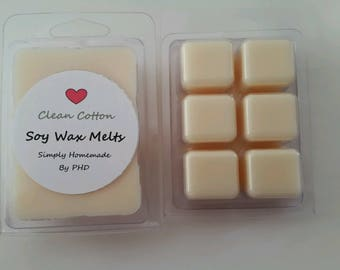 Wax Melts - Soy Wax - Clean Cotton