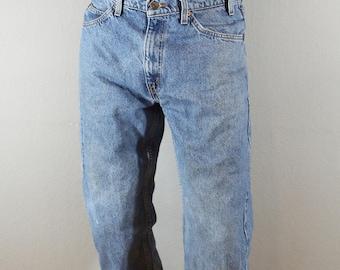 Vintage Orange Tab Levis 505/waist 33/inseam 33 1970s-1980s