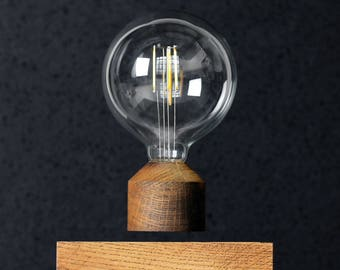 Levitating Lamp Classic Walnut