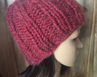 Thick Ribbed Hat