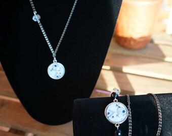 long necklace mi Messy romantic style