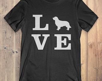 Golden Retriever Dog T-Shirt Gift: I Love Golden Retriever