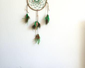 Dream Catcher Natural Green
