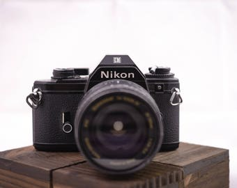 Nikon EM 35mm Film Camera with 28-105mm lens