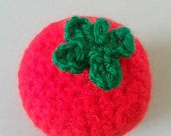 100% Handmade Crochet Garden Tomato