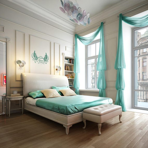 Bedroom Love - Bedroom decoration, Wall Sticker / Decal, Wall Design, Inspiring Decal collection